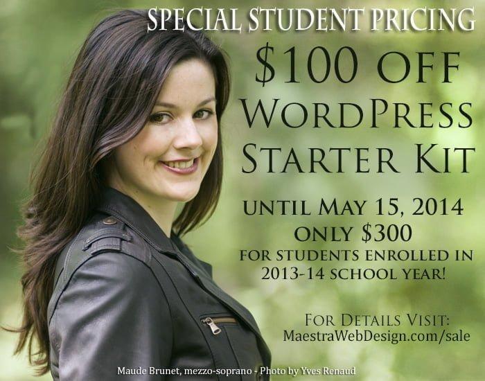 WordPress Starter Kit for Students
